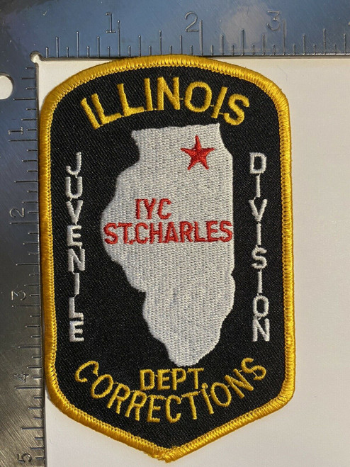 Dept. of Corrections Juvenile Division IL Police Patch