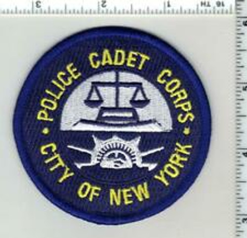 Police Cadet Corps. City of New York NY Police Patch