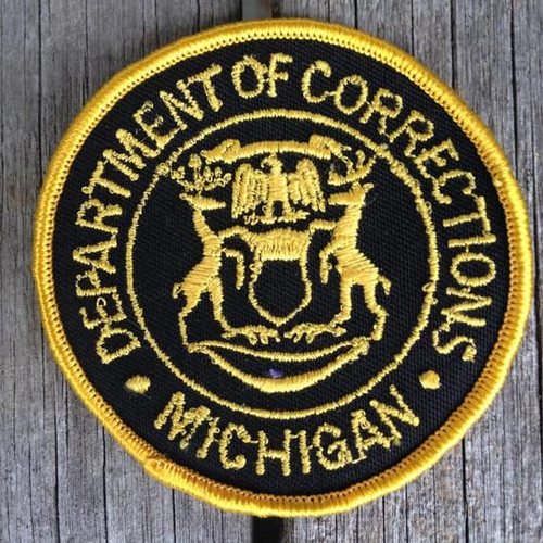 Dept. of Corrections MI Police Patch