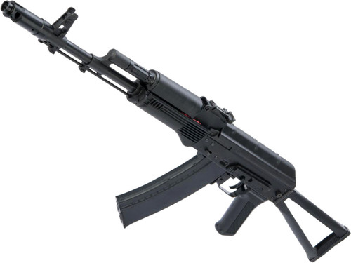 LCT LCKS74M Steel Airsoft AEG Rifle w/ Steel Side Folding Stock