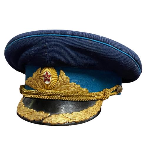 Soviet Russian Air Force Flying Officer Parade Cap