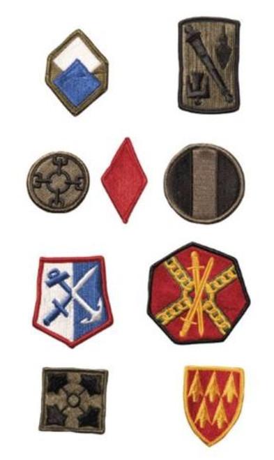 US Insignia Assortment (25)