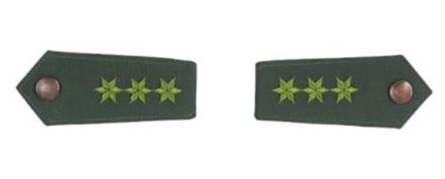 German Green Police Shoulder Boards