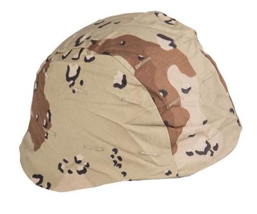 US GI 6-Col. Desert Camo Helmet Cover