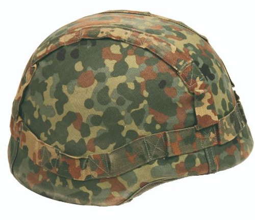 German Armed Forces Flectar Camo Kevlar Helmet Cover