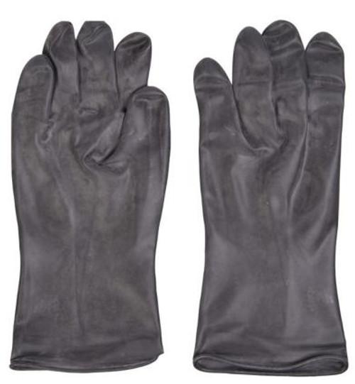 Belgium Black Rubber Gloves