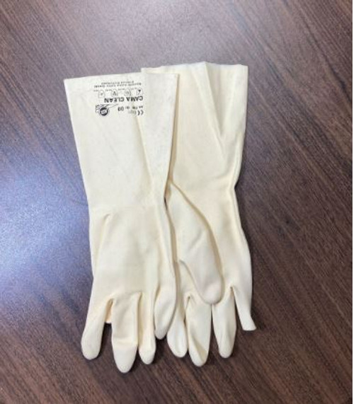 German Off-white Rubber Gloves