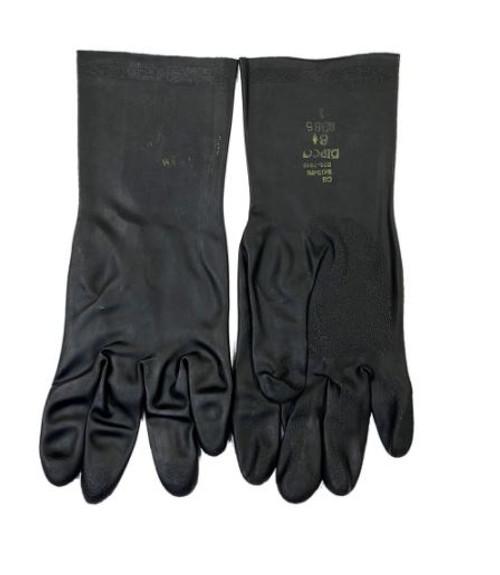 US GI Black Rubber Gloves