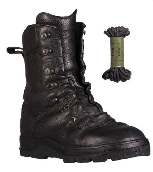 German Armed Forces DMS Leather Combat Boots