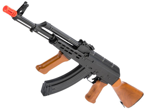 LCT Stamped Steel LCKM-63 AK EBB AEG Rifle w/ Real Wood Furniture
