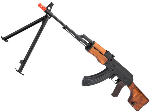 LCT Stamped Steel RPK EBB AEG Rifle w/ Real Wood Furniture