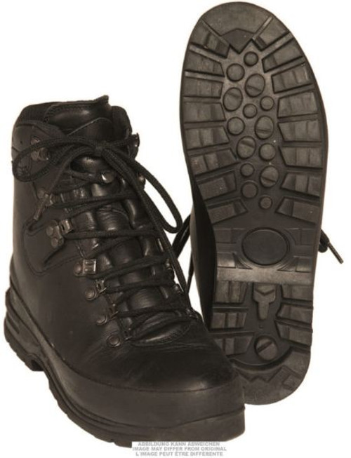German Armed Forces New Style Lined Trilam. Mountain Boots