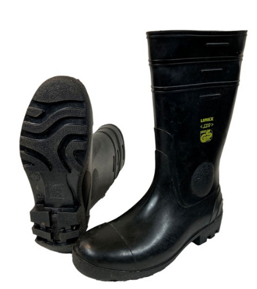 German Armed Forces Black Rubber Boots