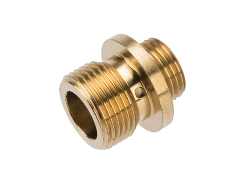 Dynamic Precision CNC Stainless Steel Threaded Suppressor Adapter for TM Pistol Barrels (Color: Gold)