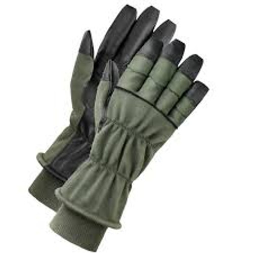 U.S. Armed Forces Nomex Cold Weather Flyer's Gloves HAU-15P