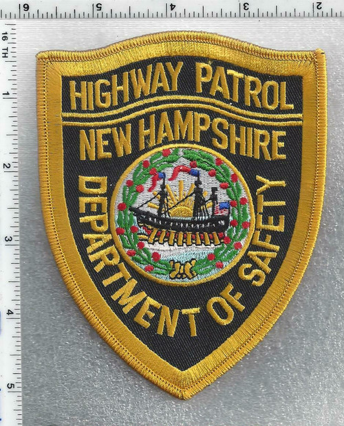 Highway Patrol - Department of Safety NH Police Patch