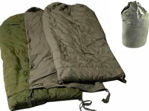Canadian Armed Forces 4 Piece Sleeping System -As Is