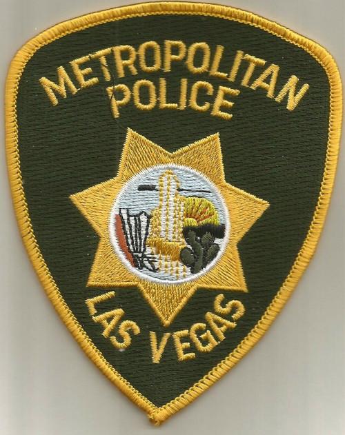 Metropolitan Police Las Vegas NV Police Patch