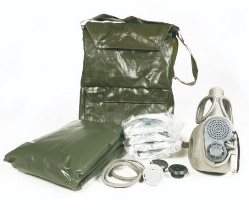Czech M10M Gas Mask W/Filters (Bag Not Included)