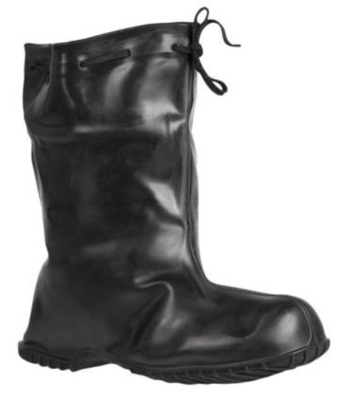 Belgium Black Rubber Overshoes