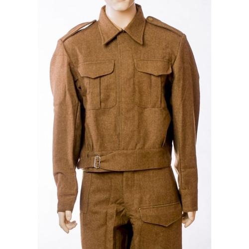 British WW II 1937 Battle Dress Wool Bd Tunic