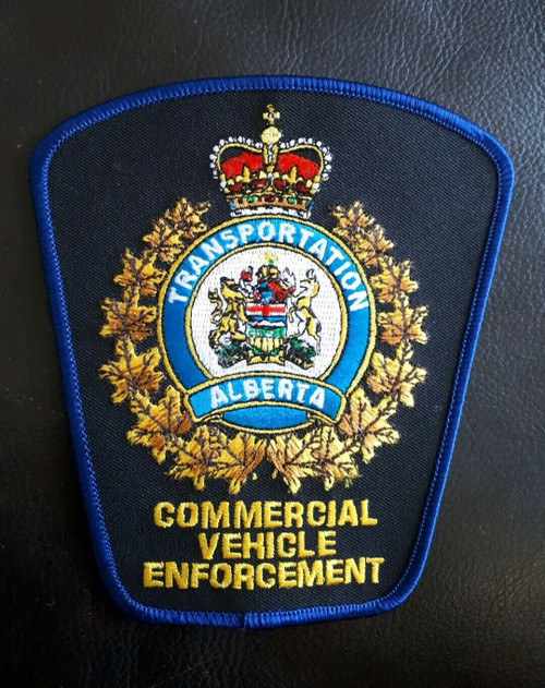 Commercial Vehicle Enforcement AB Police Patch