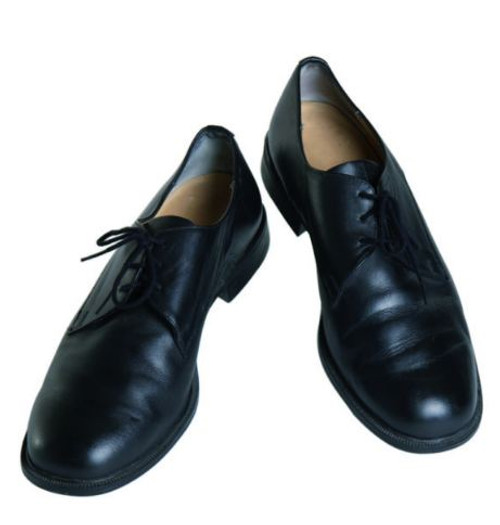 German  Armed Forces Black Leather Dress Shoes