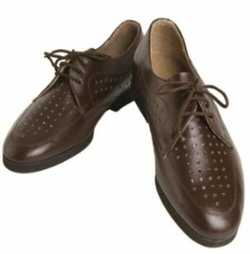 Brown Vented Dress Shoes