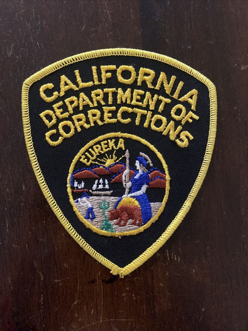 Department of Corrections CA Police Patch
