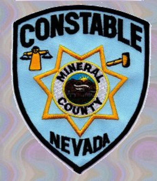 Constable Mineral County NV Police Patch