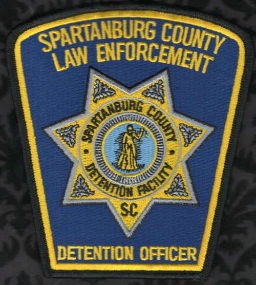 Spartanburg County Law Enforcement Detention Officer SC Police Patch