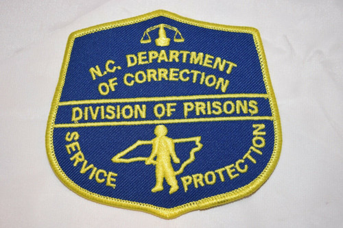 Department of Corrections NC Police Patch