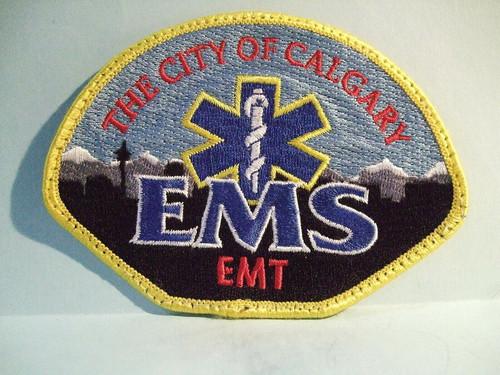 The City of Calgary EMS EMT Patch