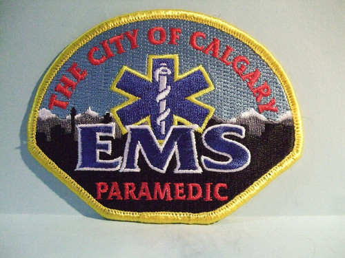 The City of Calgary EMS Paramedic Patch