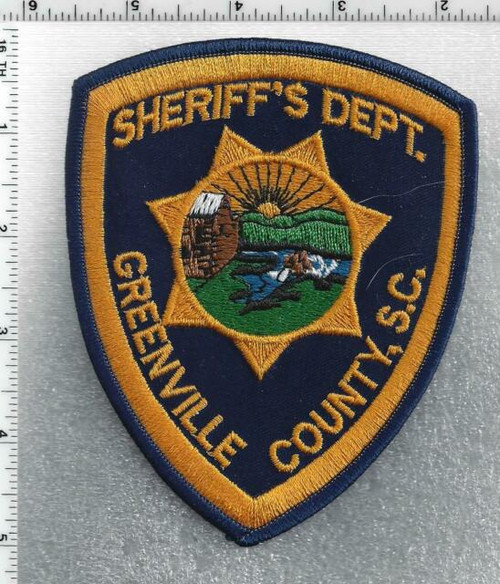 Greenville County Sheriff's Dept. SC Police Patch