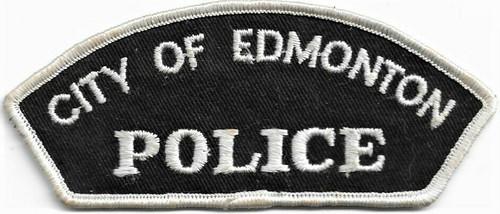 Vintage City of Edmonton Police Badge Patch
