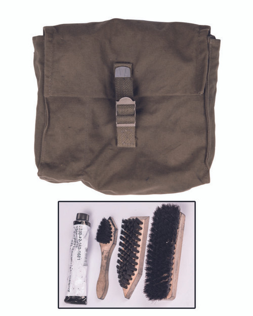 German Armed Forces Shoe Cleaning Kit w/Pouch