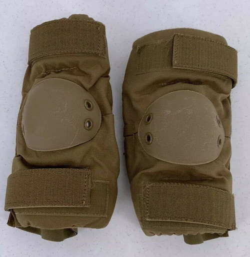 US Armed Forces Hard Cap Coyote Brown Elbow Pads