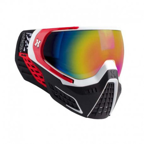 HK Army KLR Goggle Scorch (White/Red - Fusion Lens)