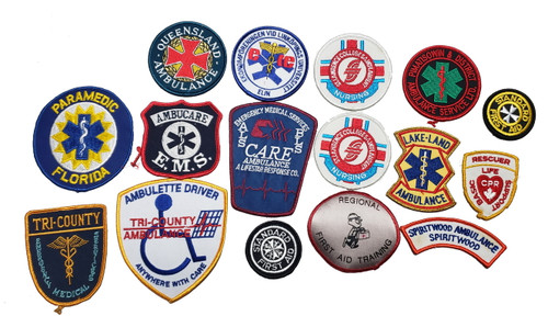 EMS Patch Lot - 16 Patches