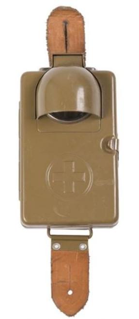 Swiss Armed Forces OD 4.5 Flashlight W/Ltr Flap