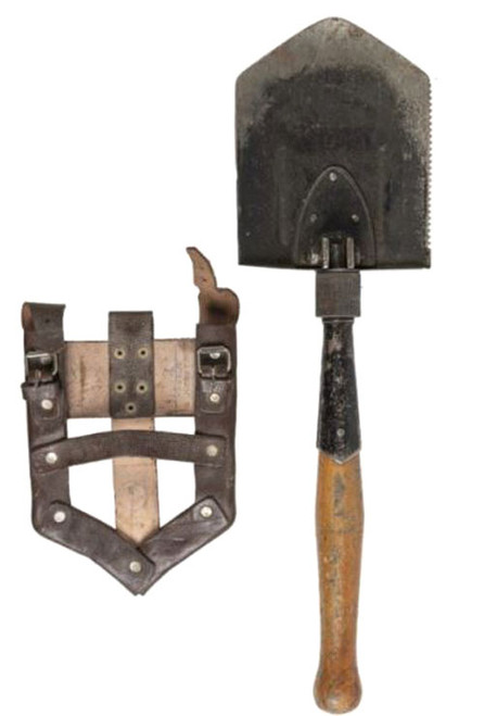 Romanian Armed Forces Folding Shovel W/Cover