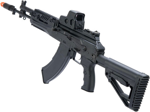 LCT Stamped Steel LCK-15 AK EBB AEG Rifle w/ Side-Folding Stock Tube
