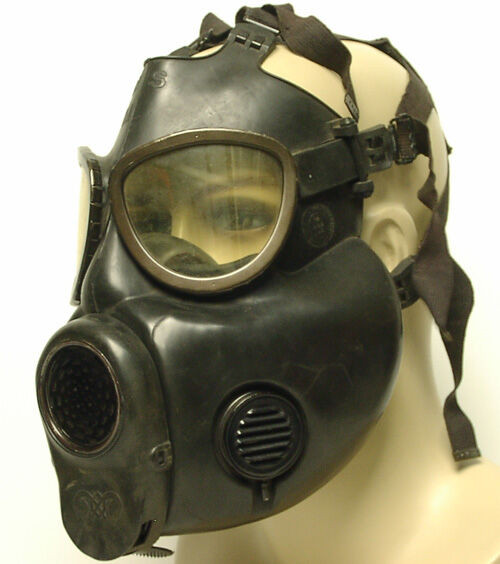 Gas Mask - U.S. Armed Forces M17 Standard (no drinking tube)