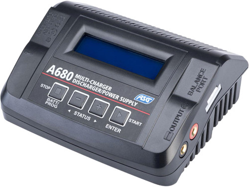 ASG A680 Programmable Battery Smart Charger