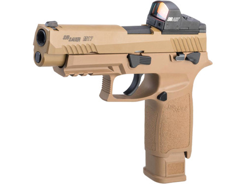 SIG Sauer ProForce P320 M17 MHS Airsoft GBB Pistol (Model: CO2 / Competition Package)