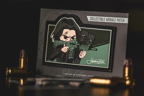 """Weaponsfree.US """"Mr. Wick"""" Special Edition Tactical PVC Morale Patch"""
