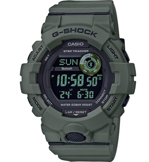 Casio G-SHOCK Power Trainer Bluetooth Step-Tracking Watch