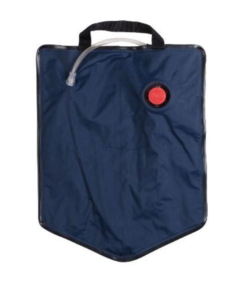 Czech Blue Water Bag W/Straw