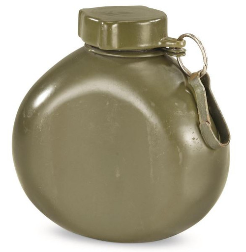 Hungarian Armed Forces OD Aluminum Canteen